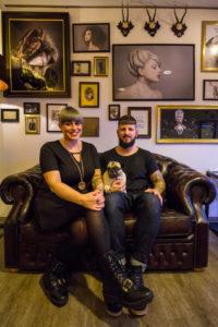Hairart Ola und Max Sendner im Kreativstudio