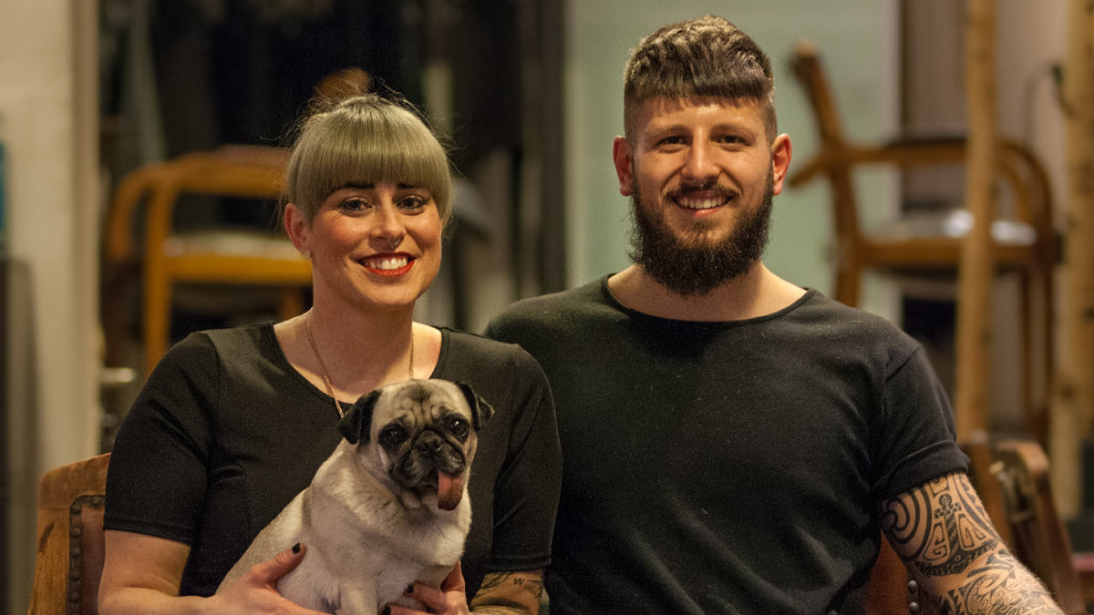 Hairart Ola und Max Sendner