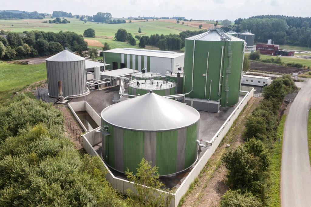 Biogasanlage Bioenergiezentrum-Hochfranken