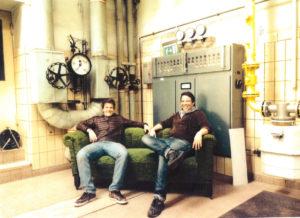 Jo Baumann und Andreas Will im Kesselhaus
