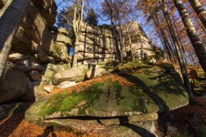 Granitfelsen am Waldstein