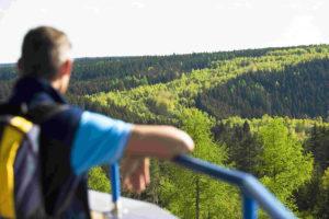 Blick auf das Grüne Band. Bildrechte: Frankenwald-Tourismus & A. Hub