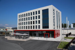 Lamilux Verwaltungsgebäude Rehau