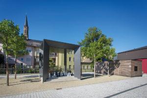Stadtmitte Münchberg. Foto: Reinhard Feldrapp