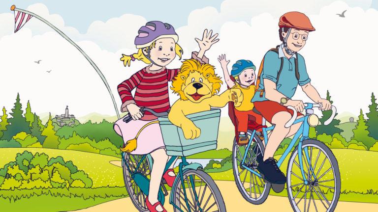 Fahrradtour im Landkreis Hof - Broschuere