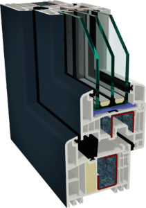 Fenster Profil GEALAN Futura