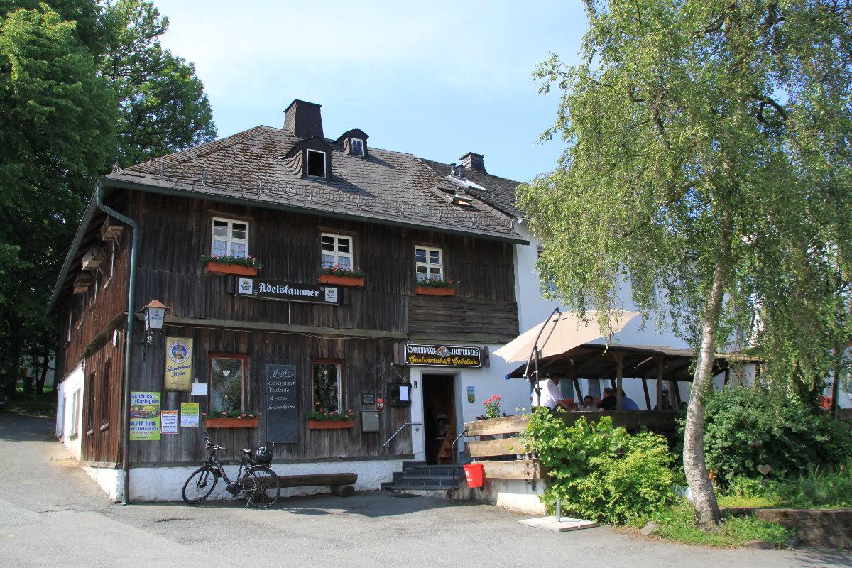 Gasthaus Adelskammer in Carlsgruen im Frankenwald