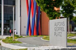 Der Initiator der Hochschule Hof: Alfons Goppel
