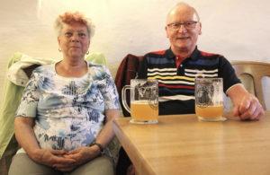 Renate und Hans-Joachim aus Berlin sind Budenschuster-Stammgäste.