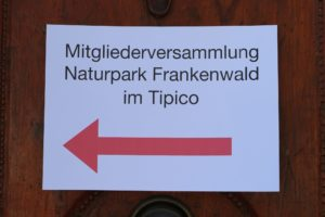 Mitgliederversammlung Frankenwald