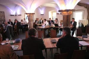 Frankenwald-Sitzung