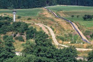 Grenze in Blankenstein