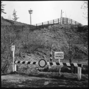 Grenze in Blechschmidtenhammer 1975