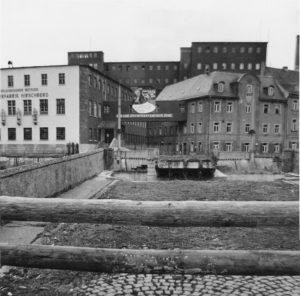 Grenze in Hirschberg 1961