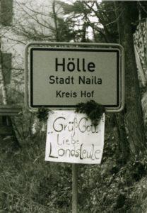 Grenzoeffnung in Hoelle