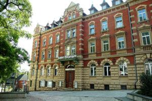 Außenansicht der LfA Förderbank in Hof