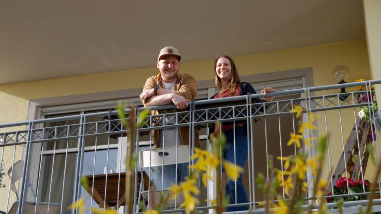 Annett und Karsten erkunden ihre neue Heimat