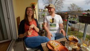 Annett und Karsten schwärmen über Hof