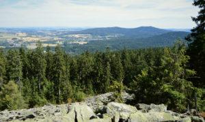 Blick von der Platte Richtung Südosten ins Wunsiedler Becken
