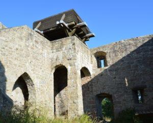 Burgruine Epprechtstein mit Aussichtplattform