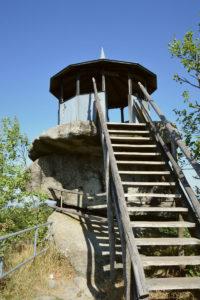Die Schüssel - Aussichtsplattform Großer Waldstein