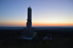Der Kornberg im Fichtelgebirge - Sonnenaufgang
