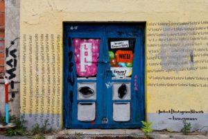 Karsten Mural Kaugummiautomat