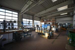 Produktionshalle von FinTec in Münchberg.