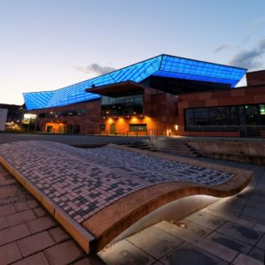Freiheitshalle, Stadt Hof, Hof Saale, Event Location, Architektur, Hofer Kulturmeile, blaues Dach