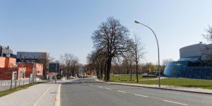Kulmbacher Straße, Kulturmeile, Klangmanufaktur Hof, Stadt Hof, Hof Saale, Architektur, Oberfranken
