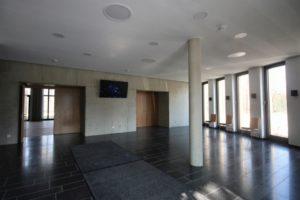 Klangmanufaktur Hof, Stadt Hof, Hof Saale, Probenraum, Architektur, Hofer Symphoniker, Konzertsaal, Veranstaltungsraum, Foyer