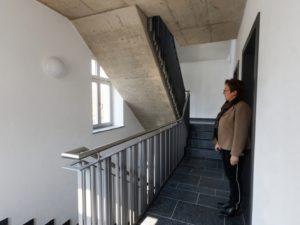 Klangmanufaktur Hof, Stadt Hof, Hof Saale, Treppe, Architektur, Hofer Symphoniker