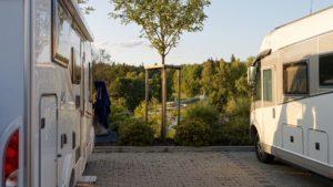 Wohnmobilstellplatz Urlaub Frankenwald Landkreis Hof Bad Steben Freibad Therme