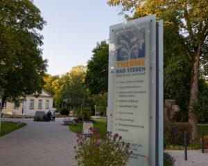 Urlaub Frankenwald Landkreis Hof Bad Steben Kurpark Therme