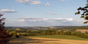 Landschaft Panorama Urlaub Frankenwald Gerlas Landkreis Hof