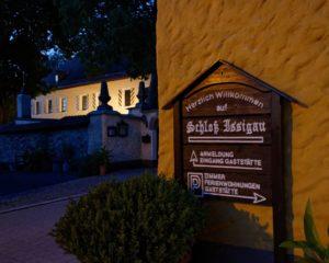 Schloss Issigau Hotel Campingplatz Landkreis Hof