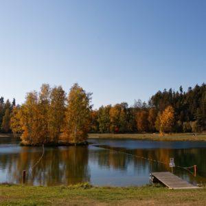 Auensee Saaletal Auental Joditz Campingplatz Wohnmobil Oberfranken Badesee