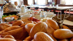Brötchen Frühstück Gasthof Raitschin Übernachtung Wohnmobilstellplätze