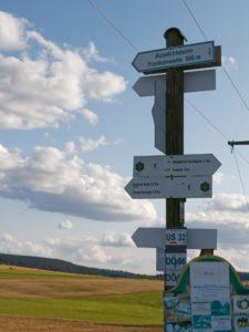 Wandern; Natur; Rückkehr; Heimat; Frankenwald; Frankenwaldverein; Wanderwege; Wegweiser; Sommer; Landkreis Hof; Hofer Land; Oberfranken; Hochfranken; Bayern
