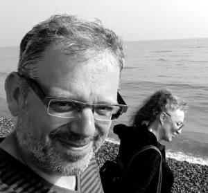 Paar Rüdiger und Betti am Strand