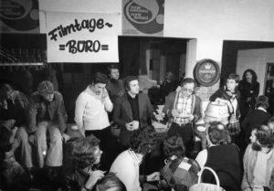 Internationale Hofer Filmtage; 1974; Filmtage-Büro; Filmemacher; Regisseure; Filmfestival