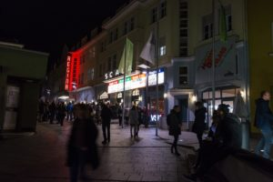 Scala-Kino in Wörthstraße von Hof/Saale; eine von zwei Spielstätten der Internationalen Hofer Filmtage. (Bild: Internationale Hofer Filmtage/Thomas Neumann)