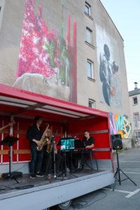 Galeriehaus; Hof Saale; Kneipe; Kultur; Event; Live Musik; Jazz; Innenhofkonzert; Oberfranken