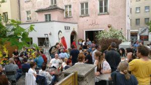 Kunstkaufhaus; KKH; Hof an der Saale; Kneipe; Konzert; Biergarten; Bahnhofsviertel