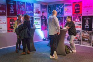 Foyer; Filmplakate; Festival; Central Kino; Hof Saale; Landkreis Hof; Hofer Land; Oberfranken; Kino