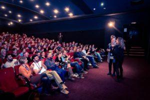 Kino 3 des Central Kinos; Hof Saale; Oberfranken; Publikum; cineasten