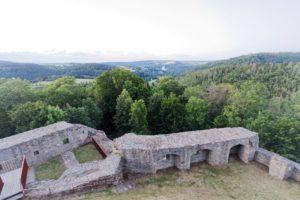 Aussicht, Panorama, Frankenwald; Franken, Thüringen, Bayern; landkreis hof