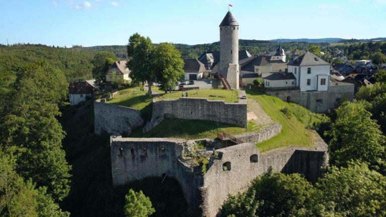 Lichtenberger Burg im Frankenwald