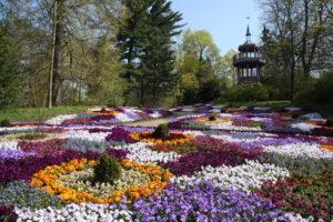 Stadt Hof; Botanischer Garten; Pavillion; Parkanlage
