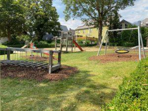 Schaukel; Rutsche; Bad Steben; Spielplatz; Park; Hofer Land; Frankenwald